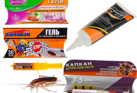 المواد الهلامية من الصراصير والفروق الدقيقة من تطبيقها (براوني ، فخ ، القاتل ، وما إلى ذلك)